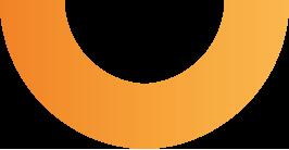 demi cercle ogalys orange