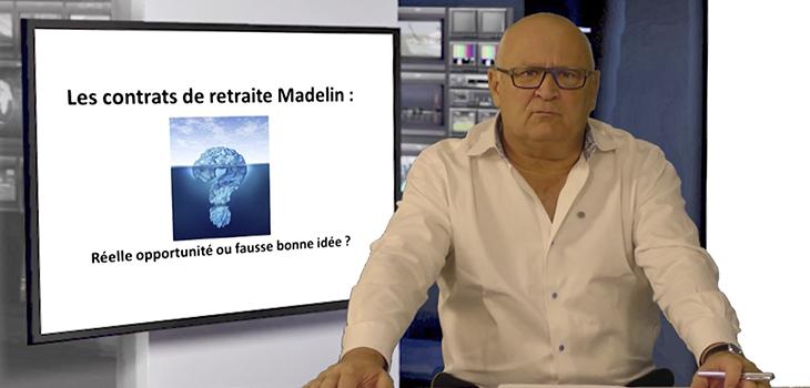 Contrats retraite Madelin